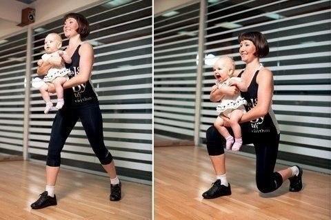 Эффективные упражнения, которые помогут маме вернуть фигуру